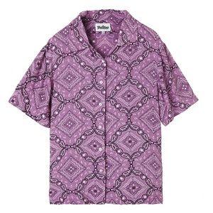 Holiday the label Emma Mulholland bowling shirt L